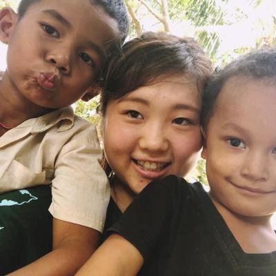 カンボジアでチャイルドケア 保坂ねね
